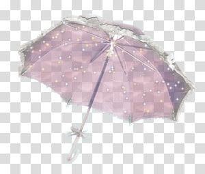 Lilac Violet Umbrella Pink M, Parasol PNG