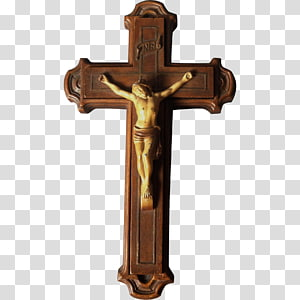 Crucifix Christian cross, religious material PNG clipart