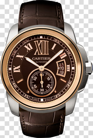 Cartier Automatic watch Chronograph Watch strap, watch PNG