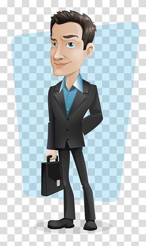 Businessperson Cartoon, Business PNG
