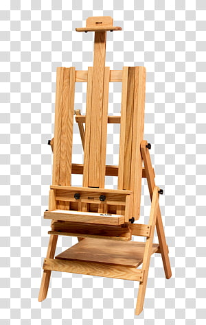 Easel Painting Artist Painter Blick Art Materials, painting PNG