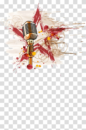 Microphone Rock music Star , scorpions PNG clipart