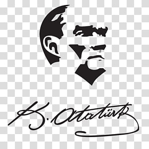 Atatürk Silüeti Silhouette Drawing Stencil, Silhouette PNG