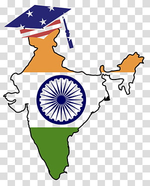 Flag of India Map , Indian flag PNG clipart