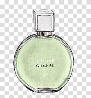Chanel perfume bottle, Chanel No. 5 Coco Perfume , Chanel perfume bottle painted texture PNG clipart