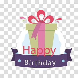 A birthday present PNG clipart
