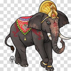 Indian elephant African elephant Elephantidae Wildlife Ganesha, ganesha PNG