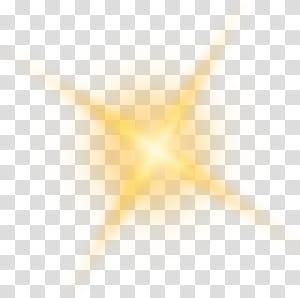 Sunlight, Golden shine light effect element PNG clipart