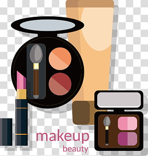 Cosmetics Make-up artist Lip liner Eye shadow Illustration, hand-painted eye shadow PNG clipart