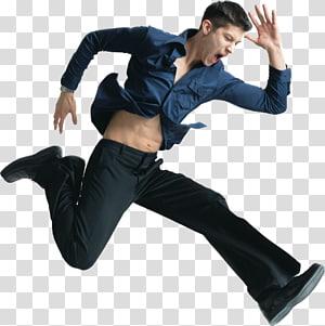 Man , jump PNG