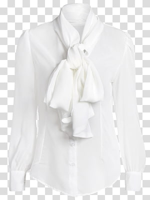 Blouse Neck Collar Sleeve, Blouses PNG