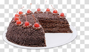 German chocolate cake Torte Black Forest gateau Brigadeiro, chocolate cake PNG
