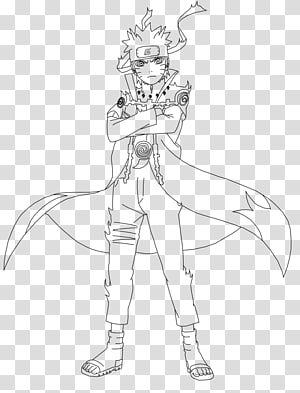 Naruto Uzumaki Minato Namikaze Sasuke Uchiha Drawing Line art, naruto PNG