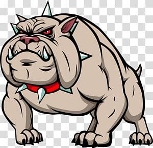 grey pitbull illustration, Bulldog Cartoon , cartoon dog PNG