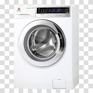 Washing Machines Electrolux Combo washer dryer Laundry Clothes dryer, wash machine PNG clipart