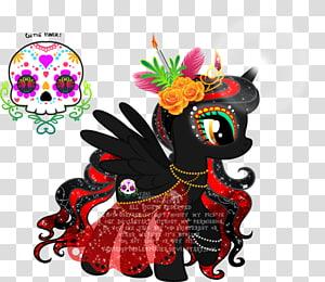 My Little Pony Calavera Winged unicorn Art, My little pony PNG clipart