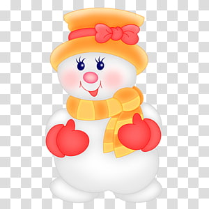 Animaatio Snowman Doll Christmas, snow PNG