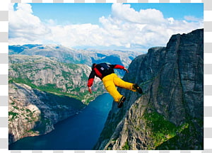 Extreme sport Wingsuit flying Kjerag BASE jumping, others PNG