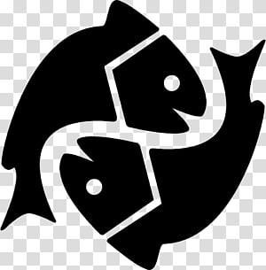 Pisces Astrological sign Astrology Zodiac Astrological symbols, pisces PNG clipart