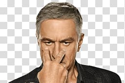 woman signing his fingers near on his eyes, Robert De Niro Look At My Eyes PNG