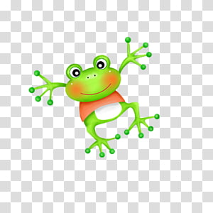 Happy Birthday to You Wish Cousin Happiness, Cartoon frog PNG