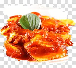 Ravioli Spaghetti alla puttanesca Pasta al pomodoro Marinara sauce, tomato PNG clipart