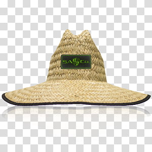 Straw hat Headgear Clothing Cowboy hat, Cheap Neon Green Backpacks PNG clipart
