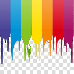 assorted-color dripping paint illustration, Color Paint , Colorful paint PNG clipart