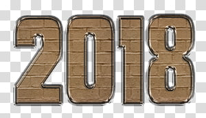 New Year Wish, 2018 years PNG clipart