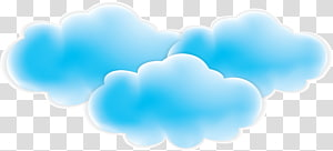 blue fresh clouds PNG
