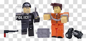 Action & Toy Figures Roblox Prisoner Game, roblox police PNG clipart
