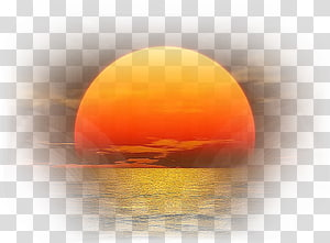 sunset PNG