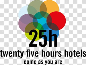 25hours Hotel beim MuseumsQuartier Logo 25hours Hotel Company GmbH, hotel PNG