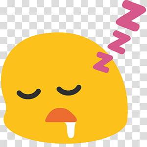Smiley Emoji Sleep Emoticon Text messaging, smiley PNG