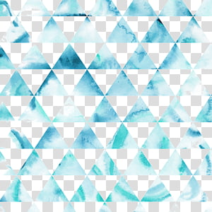 blue triangles illustration, Hipster Triangle Pattern, Triangle watercolor background PNG