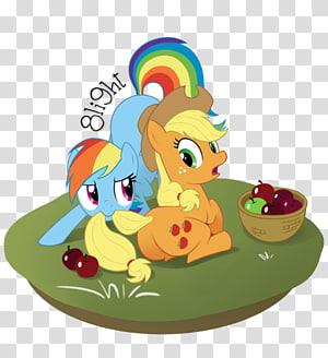 Applejack My Little Pony Rainbow Dash Horse, My little pony PNG clipart
