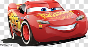 Lightning McQueen Cars Hollywood Cruz Ramirez, car PNG