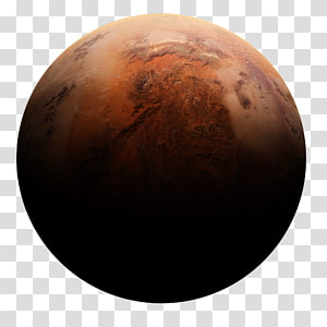 brown planet, Human mission to Mars Planet Valles Marineris Astronaut, Mars PNG clipart
