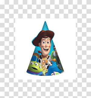 Toy Story Buzz Lightyear Sheriff Woody Party hat, toy story PNG clipart