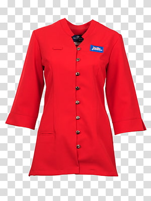 Hoodie Blouse Red Overcoat Top, dress PNG clipart