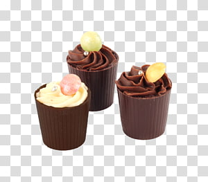 Cupcake Bonbon Praline Muffin Torte, chocolate PNG