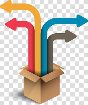 brown box illustration, creative element PPT PNG clipart