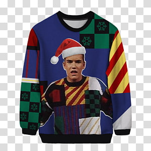 Mark-Paul Gosselaar T-shirt Zachary \'Zack\' Morris Saved by the Bell Sweater, free christmas s daquan pull PNG