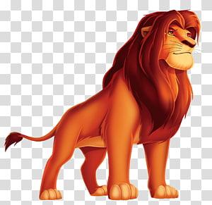 Simba Nala Pumbaa Mufasa Scar, King Lion Cartoon , Lion King Simba PNG