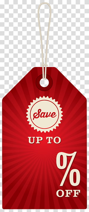 red discount tag, Sales , Discount Label PNG