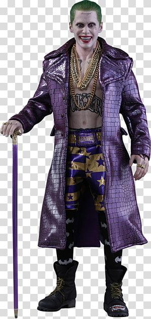 Joker Suicide Squad Harley Quinn Jared Leto Deadshot, Hot Toys Limited PNG clipart