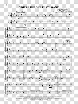 Sheet Music Alto saxophone Duet, trumpet and saxophone PNG clipart