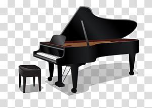 Piano Wall decal Musical instrument Key, piano PNG