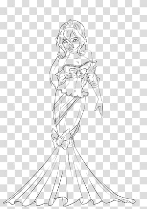 Finger Drawing Line art Sketch, Clothes draw PNG
