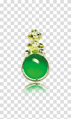 Emerald Jade Jewellery Earring, Emerald Jewelry PNG clipart